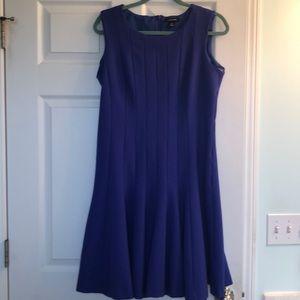 Lands End indigo dress size 14 machine washable!